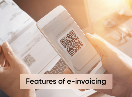 The 3 most important e-invoicing features
