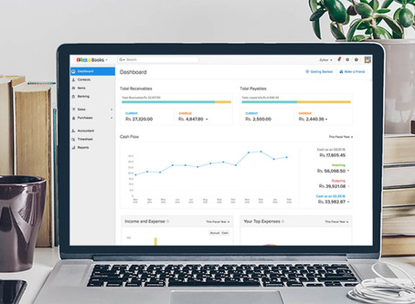 Zoho Books is the best tool for GST compliance, and here's why