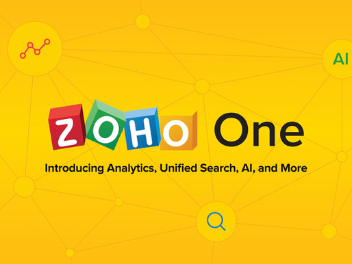 The Top 4 Reasons Why Zoho Is Best to manage your entire Operations.