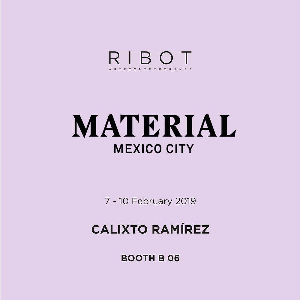 material art fair mexico ribot gallery contemporary art