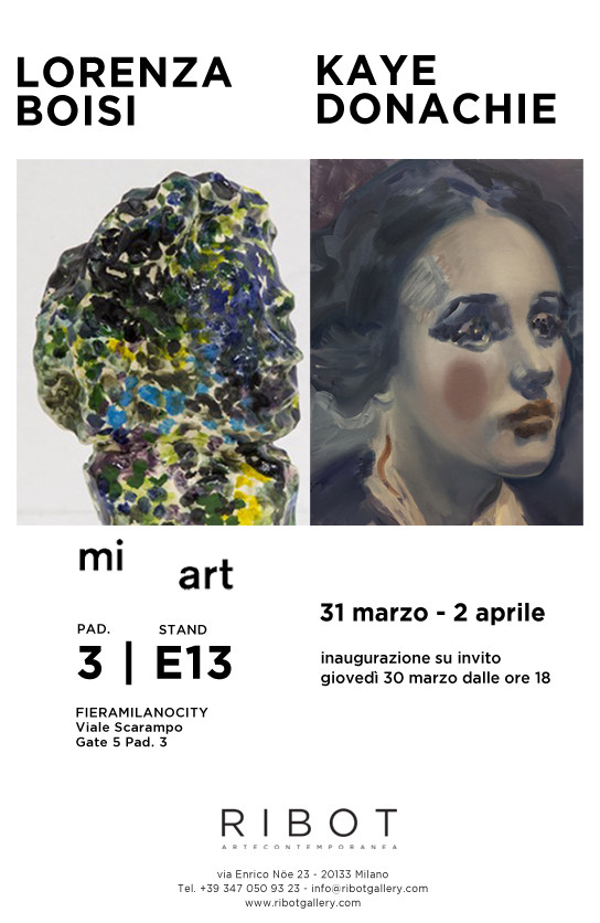 RIBOT ARTE CONTEMPORANEA A MI ART 2017