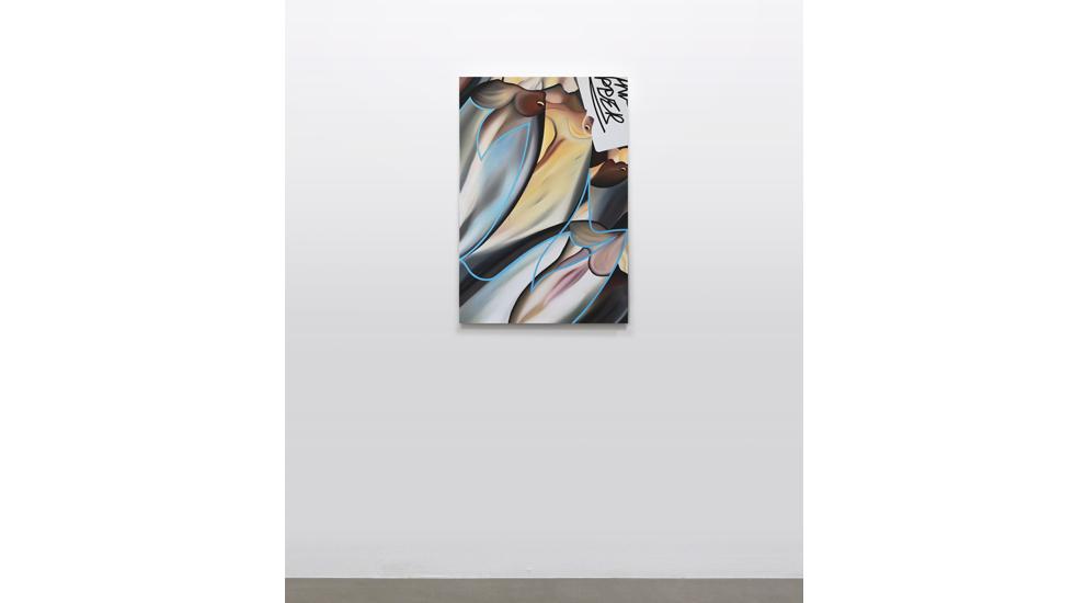 Stefano Perrone, Manx Ripper, 2020, olio su tela, 90x60 cm