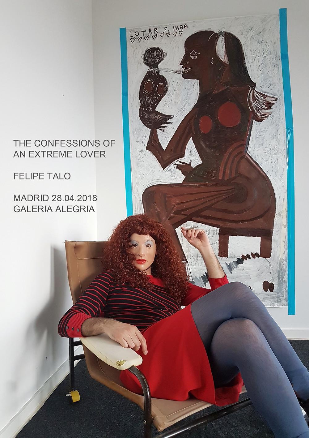 felipe talo ribot gallery contemporary art milan
