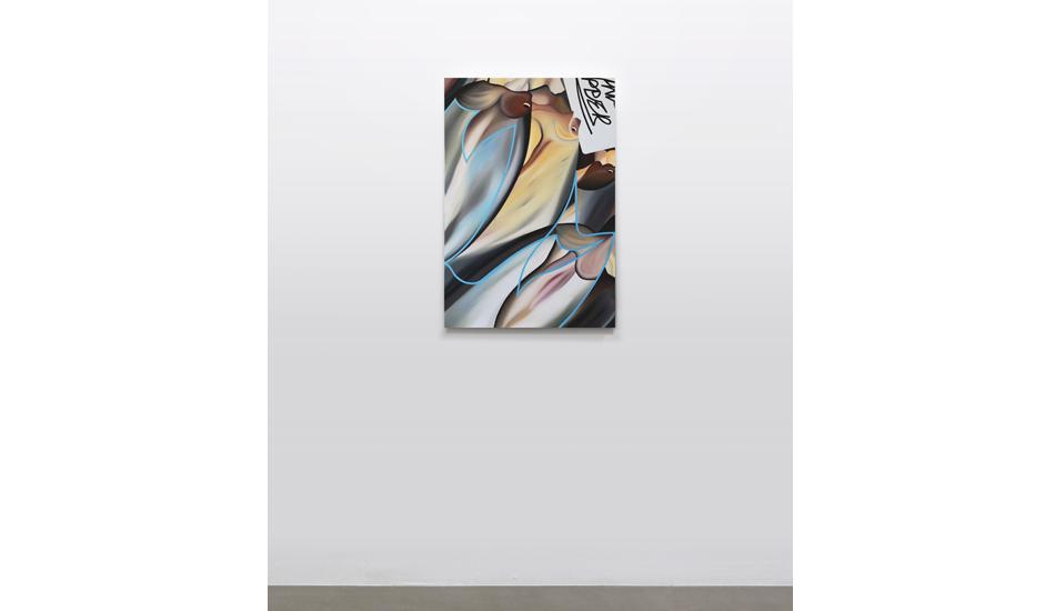 Stefano Perrone, Manx Ripper, 2020, oil on canvas, 90x60 cm