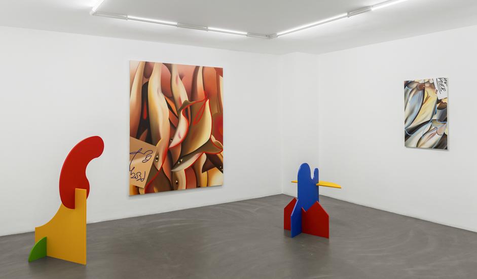 Stefano Perrone, Przemek Pyszczek - In conversation / Chapter #1, 2020, installation view @RIBOT