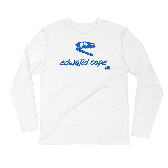 Men's Long Sleeve Fitted Crew (Royal Blue)