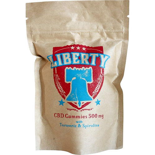 Liberty CBD Gummies 500 mg