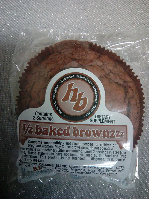 1/2 Baked Brownzzz Brownies