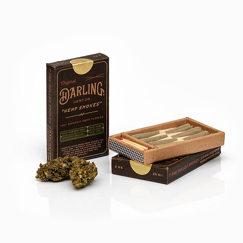 Darling Hemp Smokes (7 Pre-Rolls)