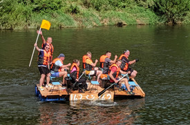 If Uncle Albert did the Monmouth Raft Race... It Would've Gone Like This...