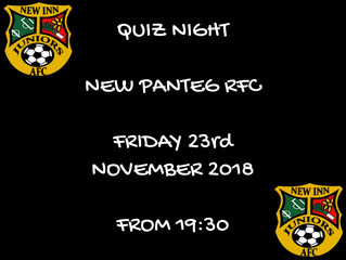 Save the Date - Quiz Night