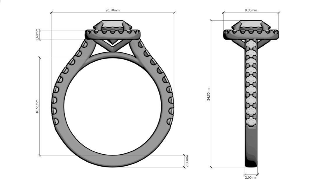 Design your proposal ring
