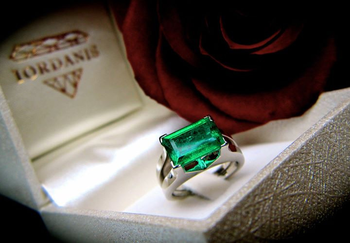 The Greatest Green of all is Emerald