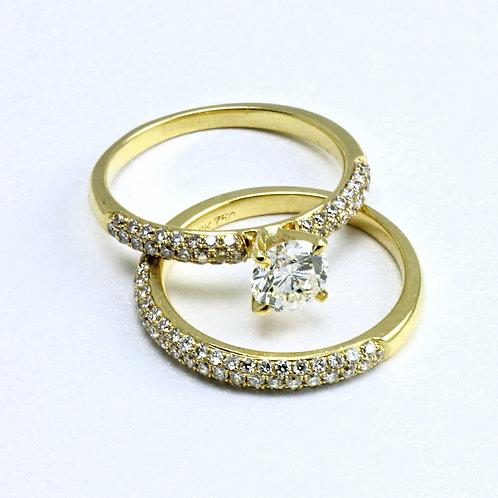 Yellow on Diamond