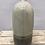Thumbnail: Medium Ceramic 2 Tone Oval Bottle Vase - Grey