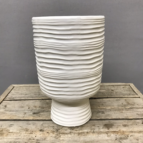 Monaco vase - White