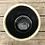"""Thumbnail: Corsica Ceramic Crackle 2 Tone 4"""" Round Pot - Celadon Blue"""