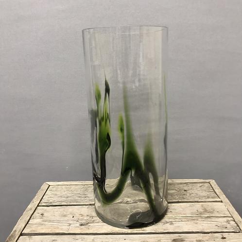 Hand made glass vase