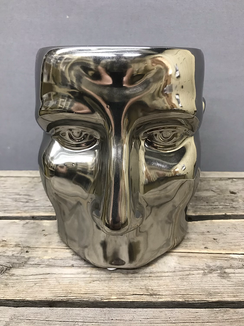 Head pots - White or chrome