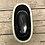 Thumbnail: Corsica Ceramic Crackle 2 Tone Short Oval Pot - Celadon Blue