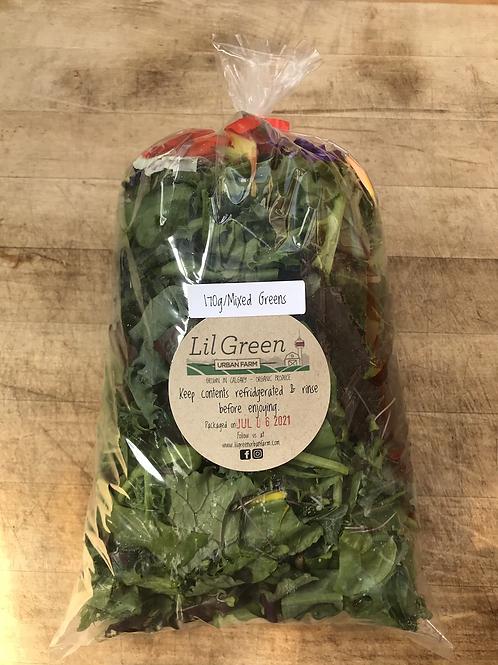 Mixed greens and more…