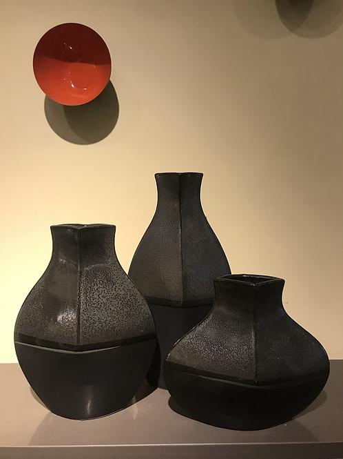 Tango 2 Tone Reactive Glaze Bulb Vase