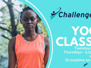 Support Challenge Set's Yoga Fundraiser This Spring