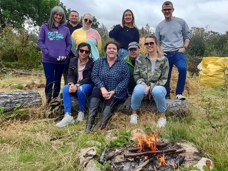 Staff enjoy 'Away Day' sponsored by The Tudor Trust