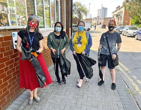 Volunteers at The Bridge Leicester.jpg