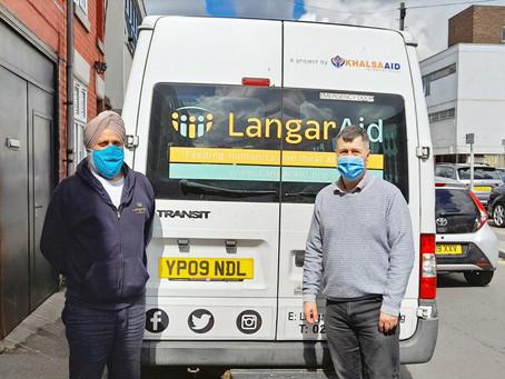 Thank You to Langar Aid!