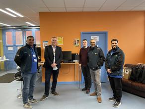 UHL Donate Computer Equipment to Homeless Charity, The Bridge