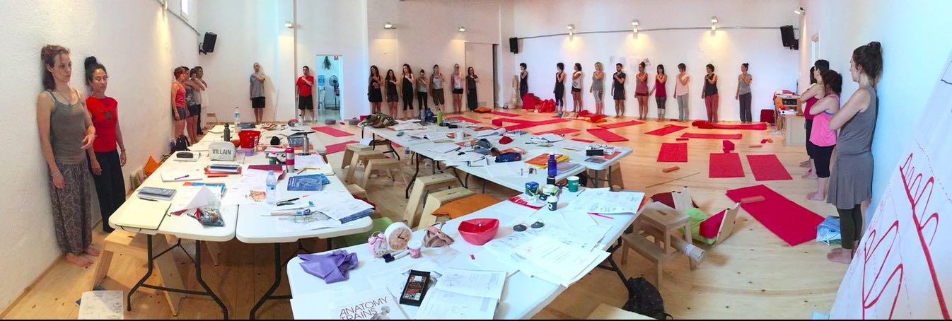 Body Workshop in Barcelona