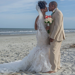 Lekesha + Gary Hilton Head Wedding