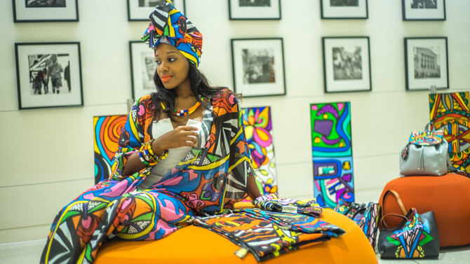 Melissa Mitchell of  Abeille  Creations talks about how it feels to be in Vogue Magazine and the New