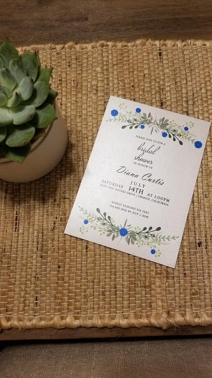 Floral Hobo Bridal Shower