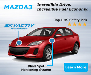 Mazda Review Ad