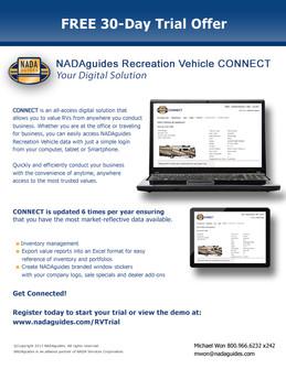NADA RV CONNECT Promo