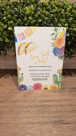 Let's Taco 'Bout Baby Shower