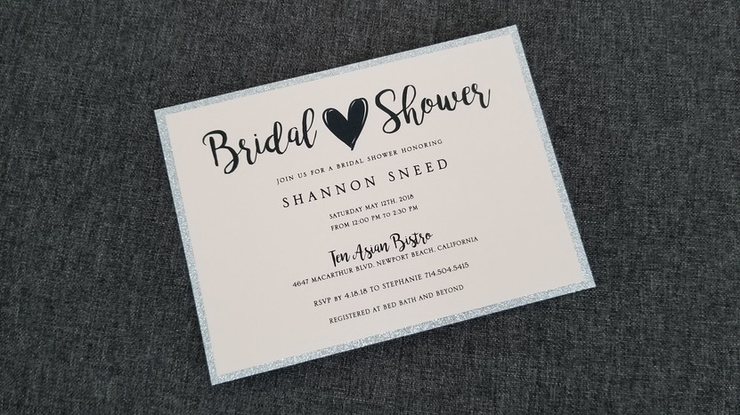 Blush Bridal Shower