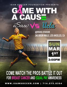 iSaw vs UCLA Flyer