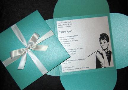 Tiffany Box Bridal Shower