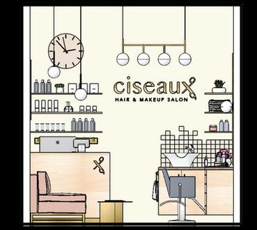 Ciseaux Hair & Makeup Salon