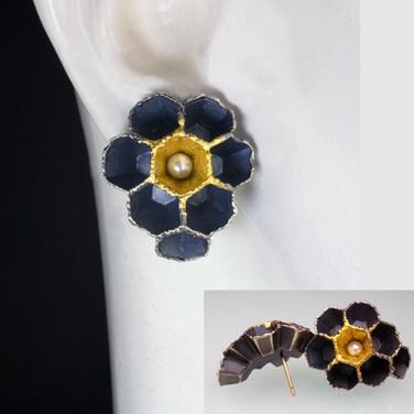 Hexagonal Colony Earrings