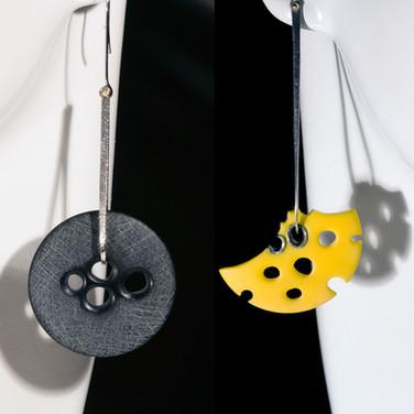 Lotus & Lotus Fragment Earrings