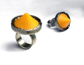 Orange Icecap Ring.