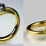 Humminbird Wedding Ring