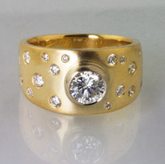 Scatterset Wedding Ring