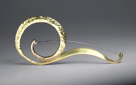 Forged Brass Pin.
