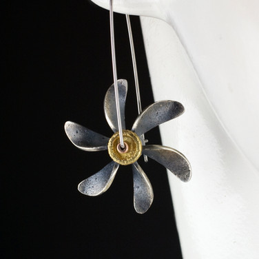 Spinning Propeller Earrings.