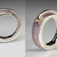Forged Overlap with Gold Button